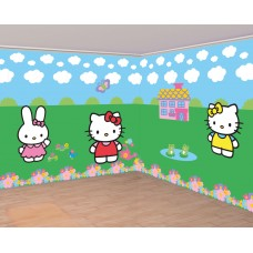Hello Kitty Room Decorating Kit