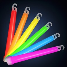 25 Glow In The Dark Sticks 100mm x 10
