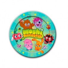 Moshi Monsters Party Plates 8's