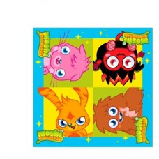 Moshi Monsters Party Napkins - 16