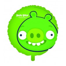 Angry Birds Balloon Foil - Green