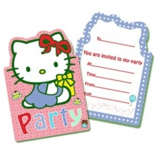 Hello Kitty Party Invite - 6