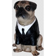 Decorative Men in Black Frank The Pug Pr