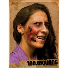 Prosthetic Wounds 100 on Face