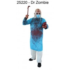 Costume & Mask Dr. Zombie