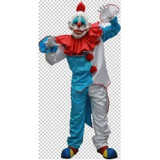 Costume & Mask Dummy The Clown