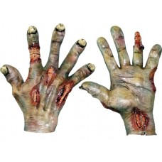 Hands Latex Rotted Flesh Pair