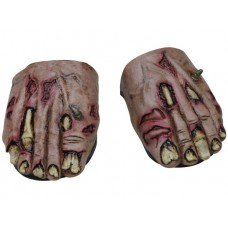 Feet Covers  Zombie Flesh with Elastic