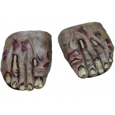 Feet Covers Zombie Rotted Flesh w Elasti