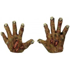 Hand Gloves Zombie Undead Pair
