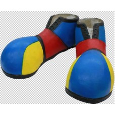 Feet Covers Latex Full size Clown Shoes