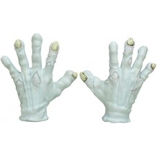 Hands Latex Evil Clown