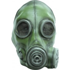 Mask Head Gas Smoke Mask Green