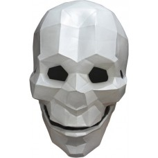 Mask Head Low Poly Art Skull
