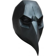 Mask Head Low Poly Art Crow