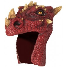 Mask Helmet Dragon Red
