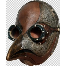 Mask Head Steampunk Gas Peste