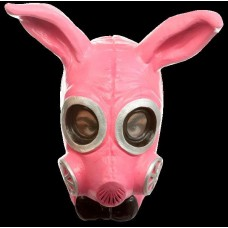 Mask Head Gas Bunny Kinky Pink