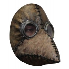 Mask Face Steampunk Plague Doctor Brown