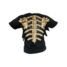 Costume Chest Cover Bones T Shirt
