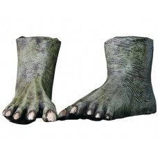 Shoe Covers Green Feet Pair
