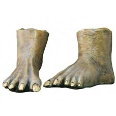 Feet Latex Full Size Brown Pair