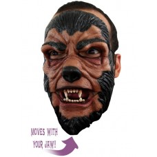Mask Face Moving Mouth 2 part Werewolf