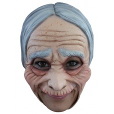 Mask Head Chin Strap Old Lady