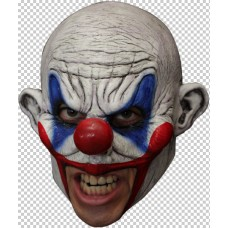 Mask Head Chin Strap Clown Clooney