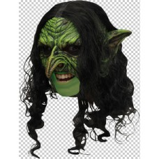 Mask Head Chin Strap Witch Wicked Deluxe
