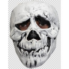Mask Face Skull Happy White Bon