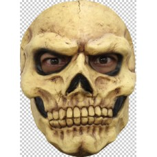 Mask Face Skull Brown Bones