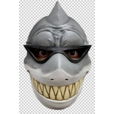 Mask Face Funny Animal Sharky c/w Glass