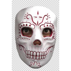 Mask Face Day of the Dead Madame Catrina