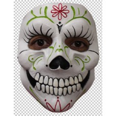 Mask Face Day of the Dead Lady Catrina