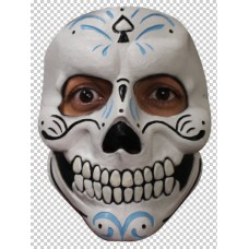 Mask Face Day of the Dead Mister Catrin