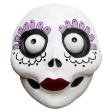 Mask Face Day of the Dead La Catrina