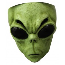 Mask Face Alien Green