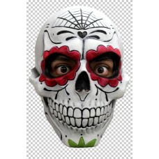 Mask Head Day of The Dead Gentleman Catr