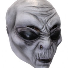 Mask Head Alien Gray