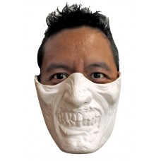 Mask Chin & Mouth Plastic Zombie