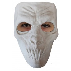 Mask Face Plastic Mouthless White