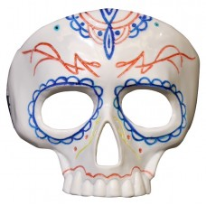 Mask Face Plastic Day of the Dead Paintd