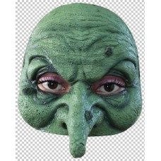 Mask Half Witch Green