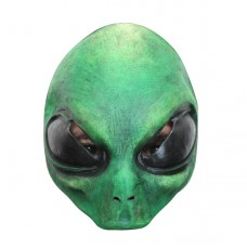 Mask Half Alien Green Small