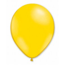 Balloon Helium 29cm Yellow x50