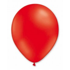 Balloon Pastel 13cm Red x1000