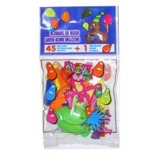 Balloon Water 45 in Packet + Mini Pump