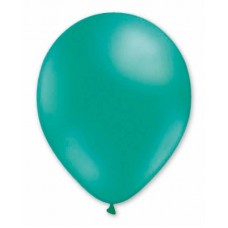 Balloon Helium 29cm Green Emerald x50