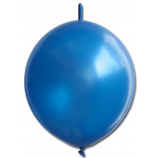 Balloon Helium Link Round 32m Blue Light